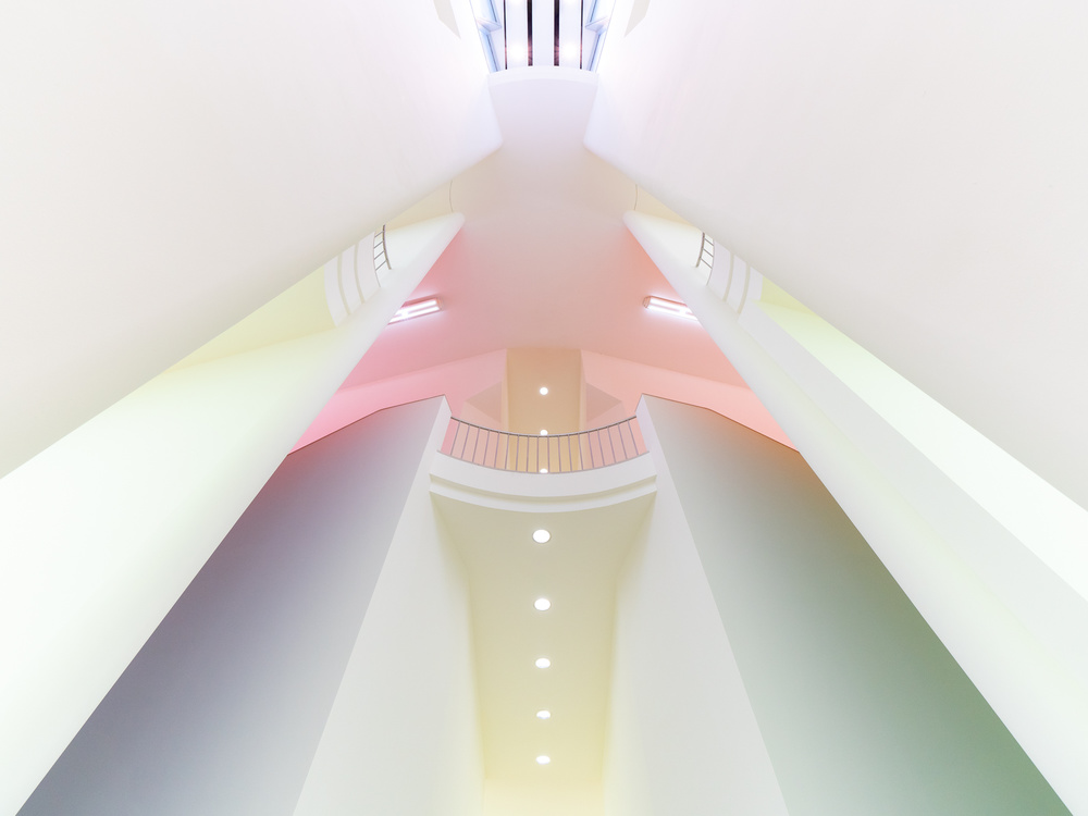 A piece of fine art art photography titled Beauty of Modern Architecture 01 by Harry Lieber
