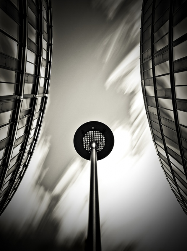 A piece of fine art art photography titled Verticals #6 by Arkadius Zagrabski
