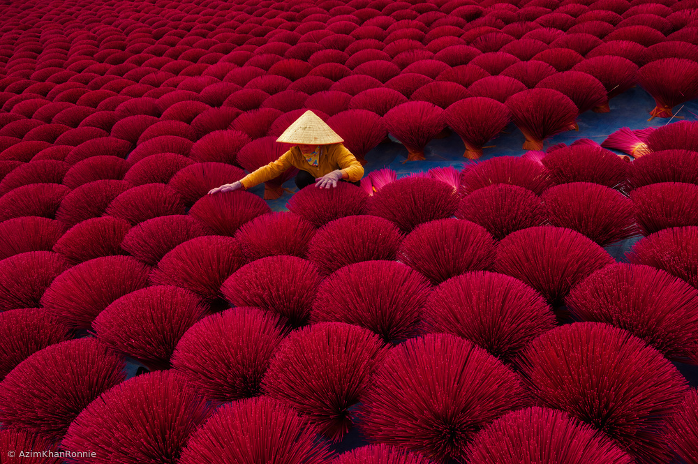 View this piece of fine art photography titled Incense drying by Azim Khan Ronnie