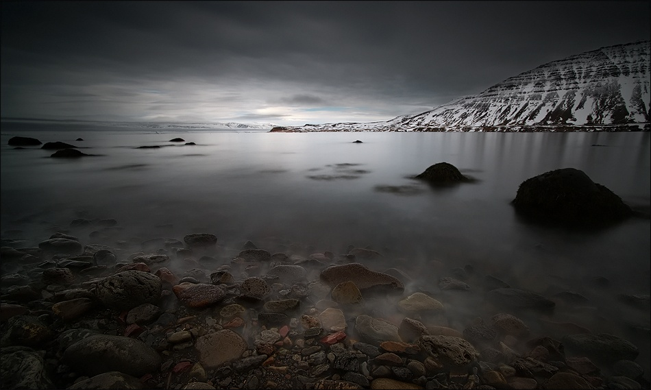 A piece of fine art art photography titled  Low Tide by Raymond Hoffmann