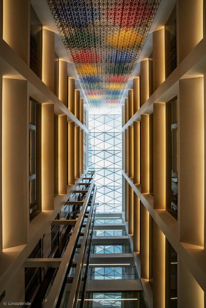 rainbow atrium