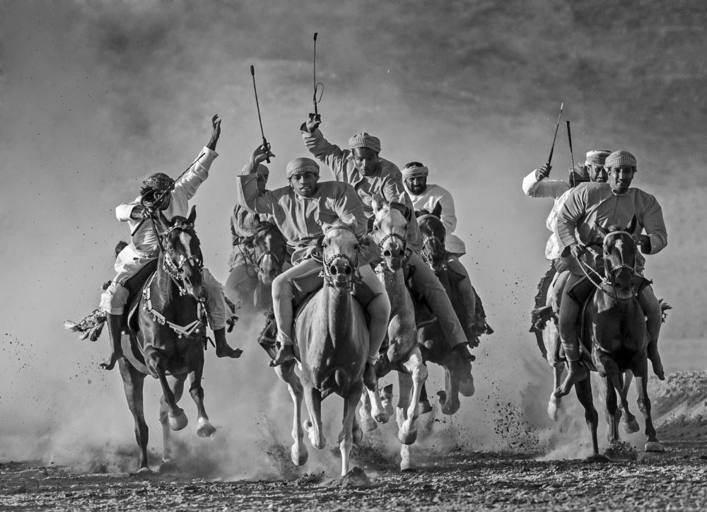 A piece of fine art art photography titled Start by majid alamri
