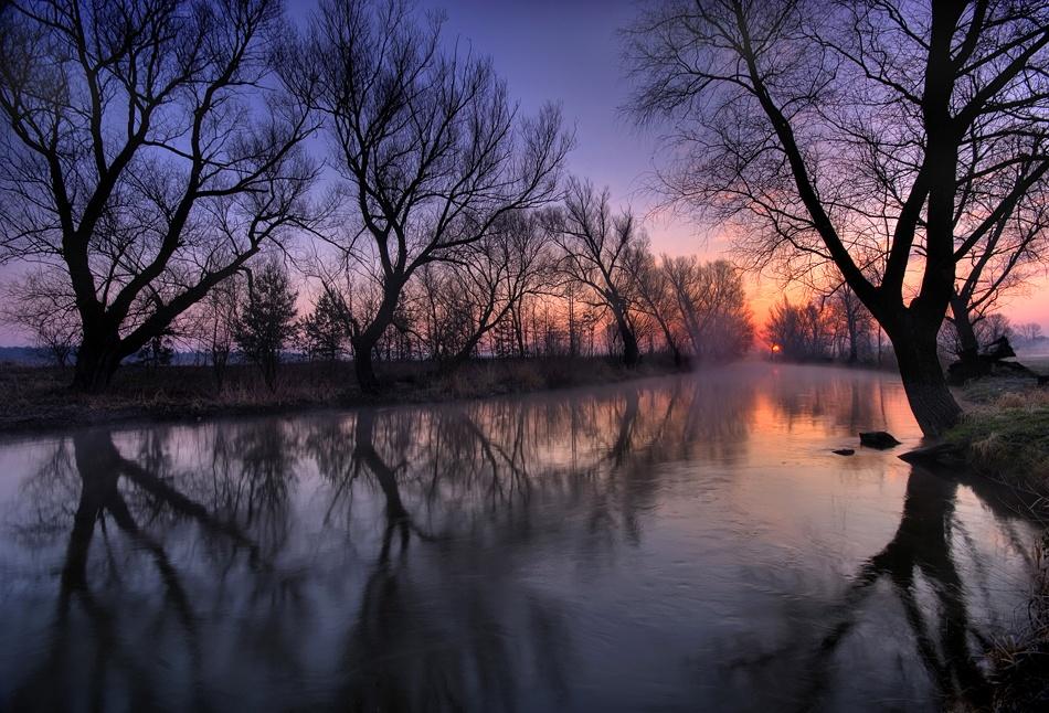 A piece of fine art art photography titled Dawn by Piotr Cichosz