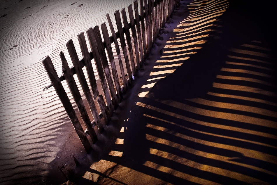 A piece of fine art art photography titled Dune Shadows by Alvaro
