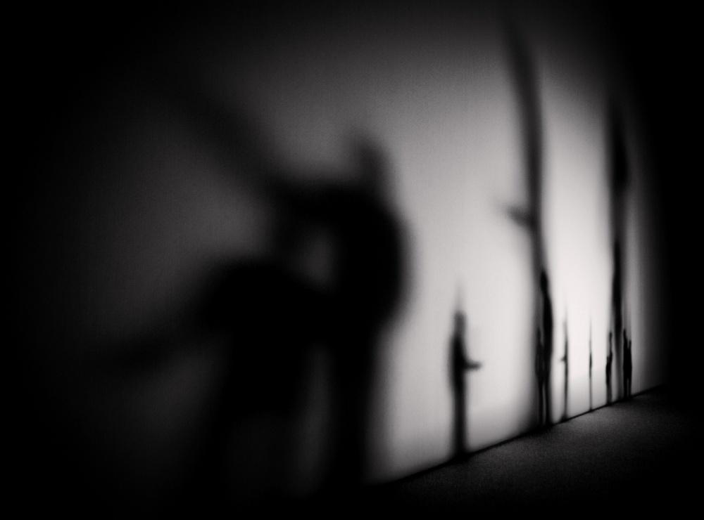 A piece of fine art art photography titled Shadows by Satoshi Matsuda