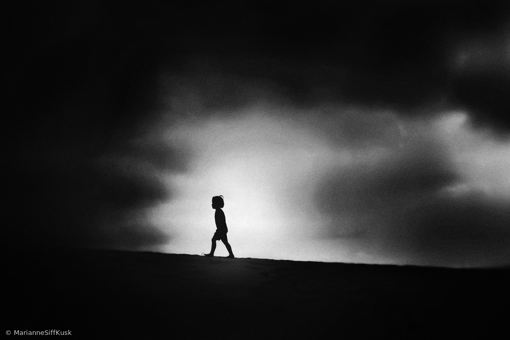 View this piece of fine art photography titled Walk the Border by Nobuhiro Ishida