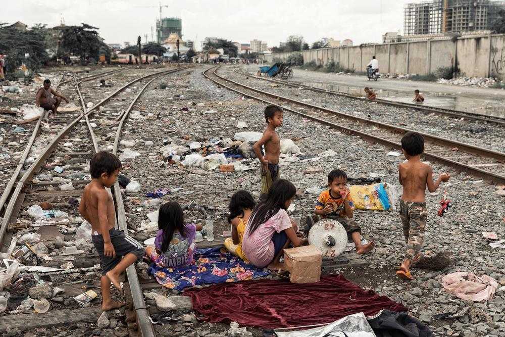 A piece of fine art art photography titled Phnom Penh by Tashi_Delek Nakata