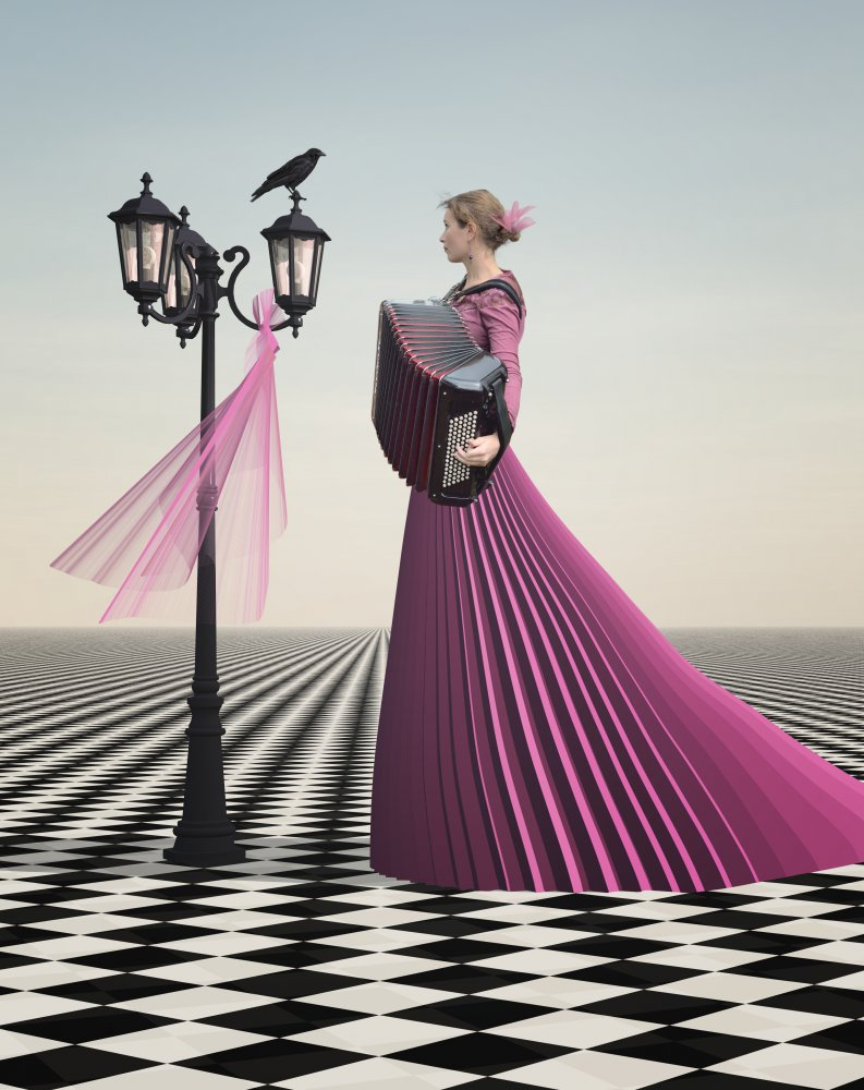 A piece of fine art art photography titled Parisian Waltz by Esther Margraff