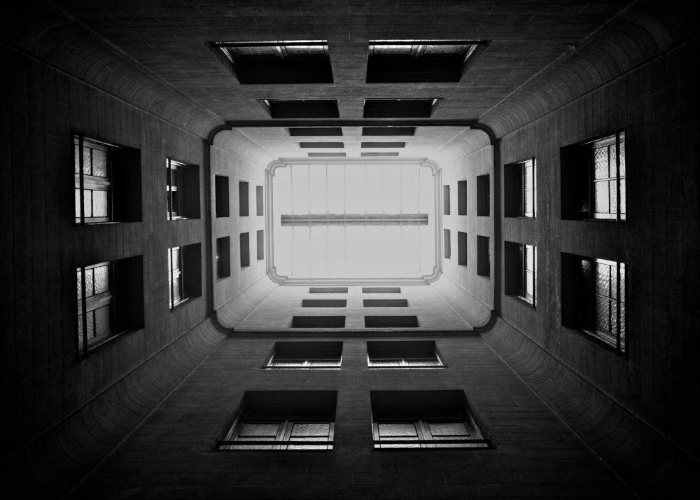A piece of fine art art photography titled Walls by Erik Hammar