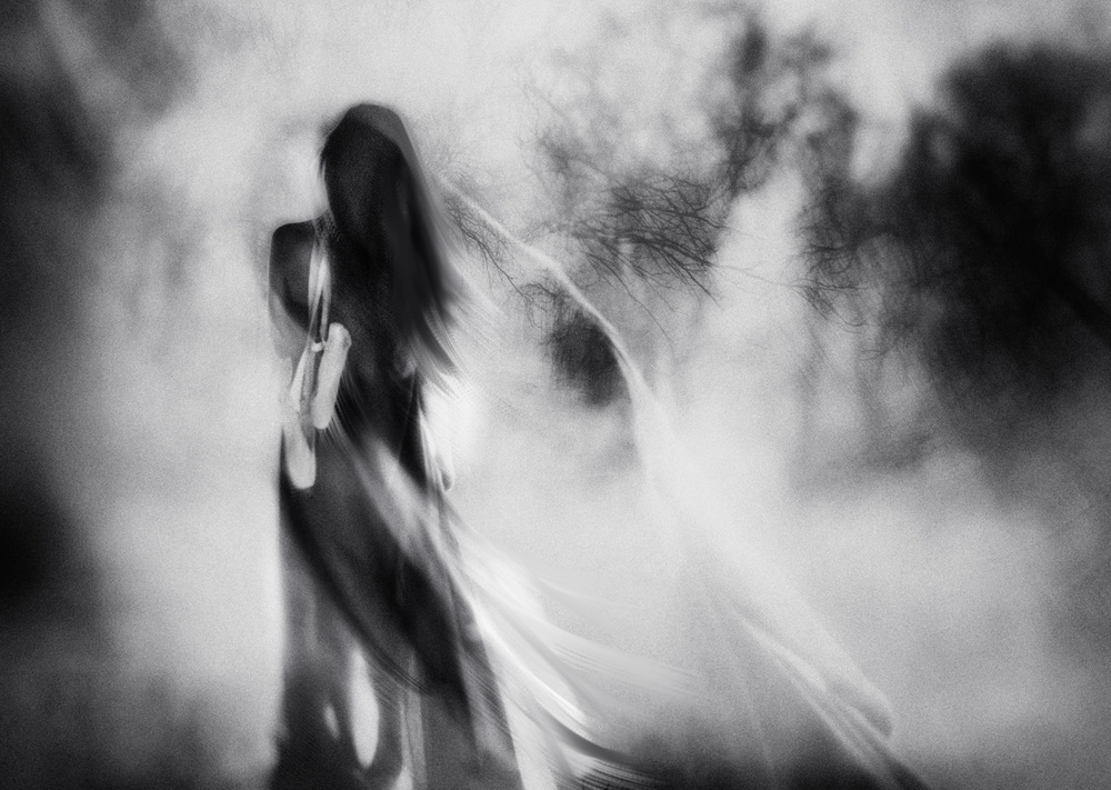 A piece of fine art art photography titled The Day I Stopped Dancing by Charlaine Gerber