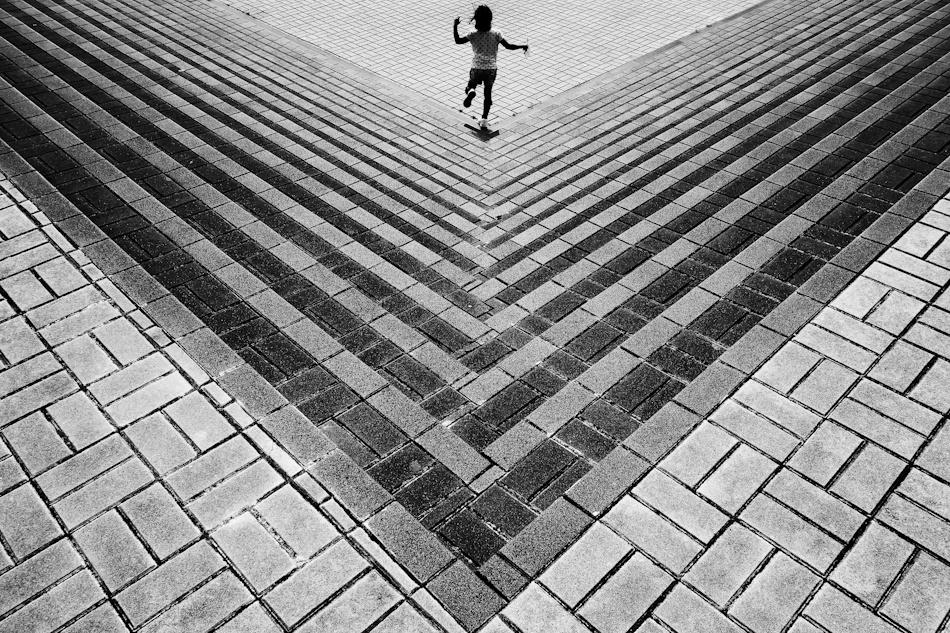 A piece of fine art art photography titled Girl by Yusuke Sakai