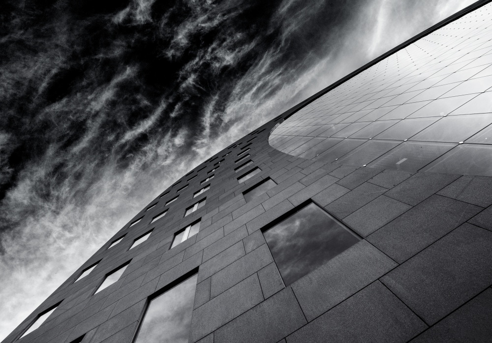 A piece of fine art art photography titled The Diagonal to the Sun by Gerard Jonkman