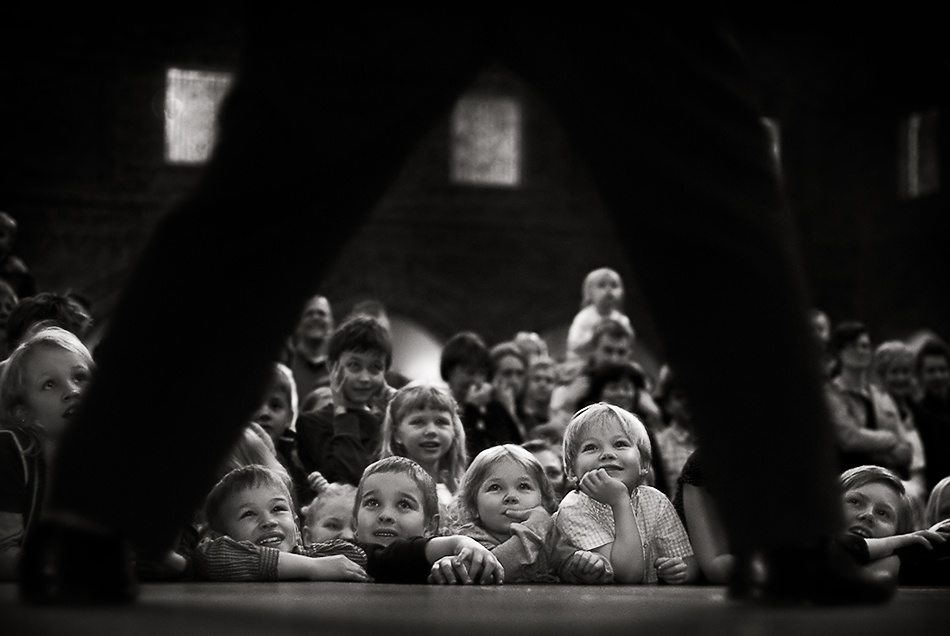 A piece of fine art art photography titled All Eyes On Me by Thomas Ljungberg
