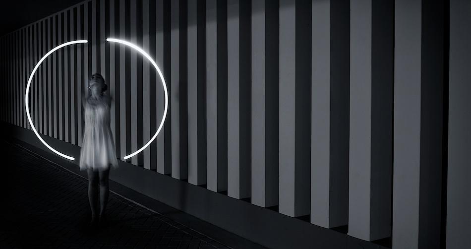 43 Lines, 1 Circle