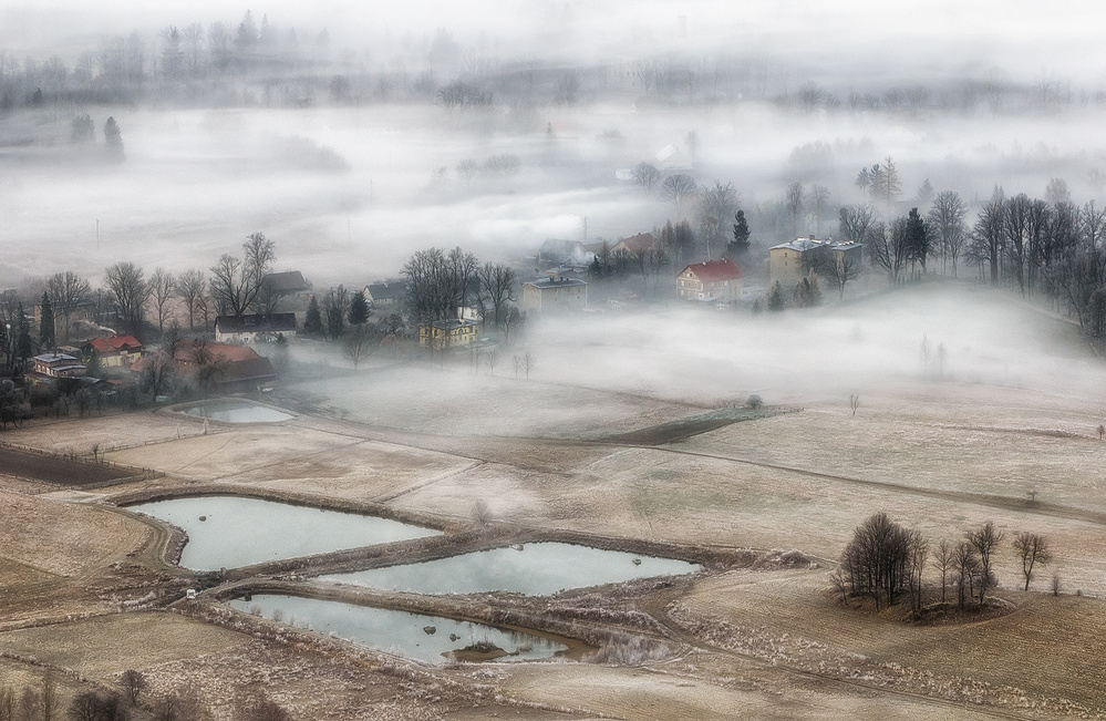 A piece of fine art art photography titled Before Dawn by Piotr Krol (Bax)