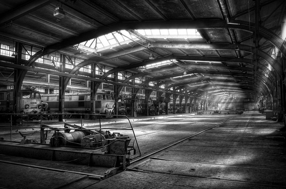 A piece of fine art art photography titled Giants Shelter by Poul Noise