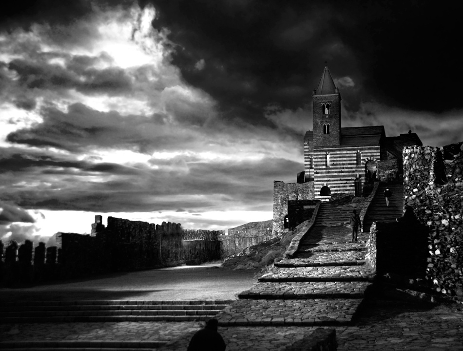 A piece of fine art art photography titled The Church by Andrea Auf dem Brinke