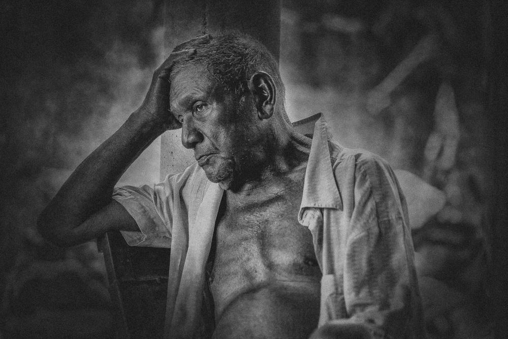 A piece of fine art art photography titled My Grandfather by Gabriel Ramón