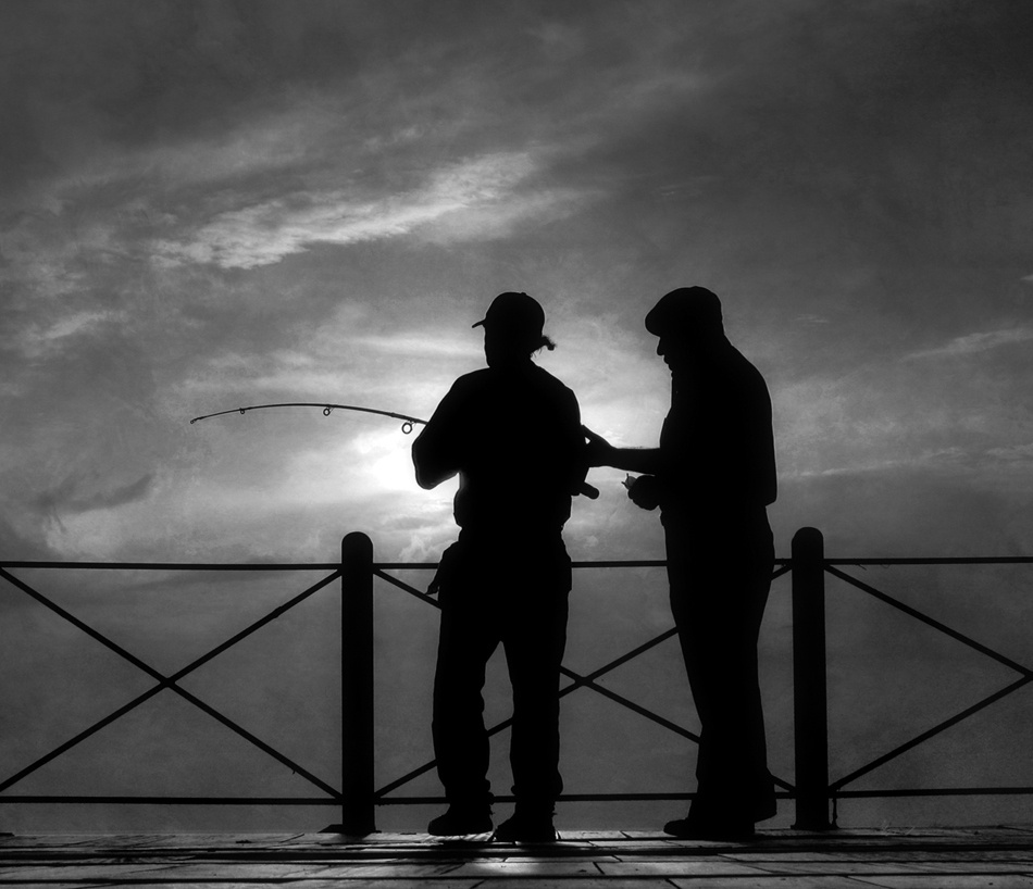 A piece of fine art art photography titled OldFriends by Antonio Arcos aka fotonstudio