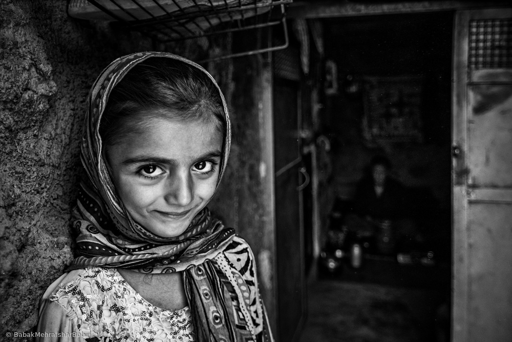 View this piece of fine art photography titled Bakhtiary girl by Nath Bala