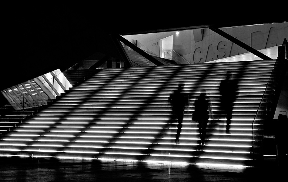 A piece of fine art art photography titled Steps by Alexandre Lima Carneiro