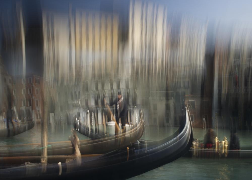 A piece of fine art art photography titled Venice Impresion by milan malovrh