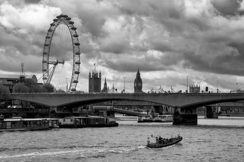 A piece of fine art art photography titled London  by Peter Sticza