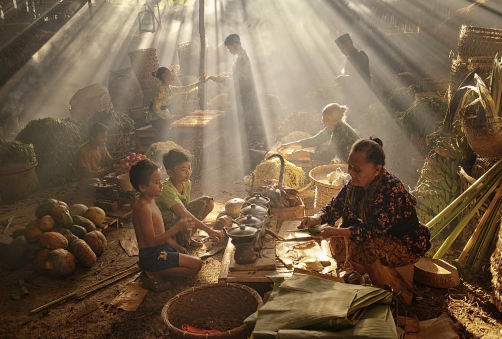 Javanese Traditional Market