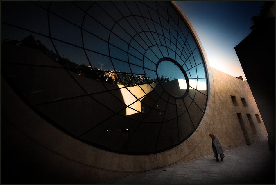 A piece of fine art art photography titled The Big Eye by Franco Farina
