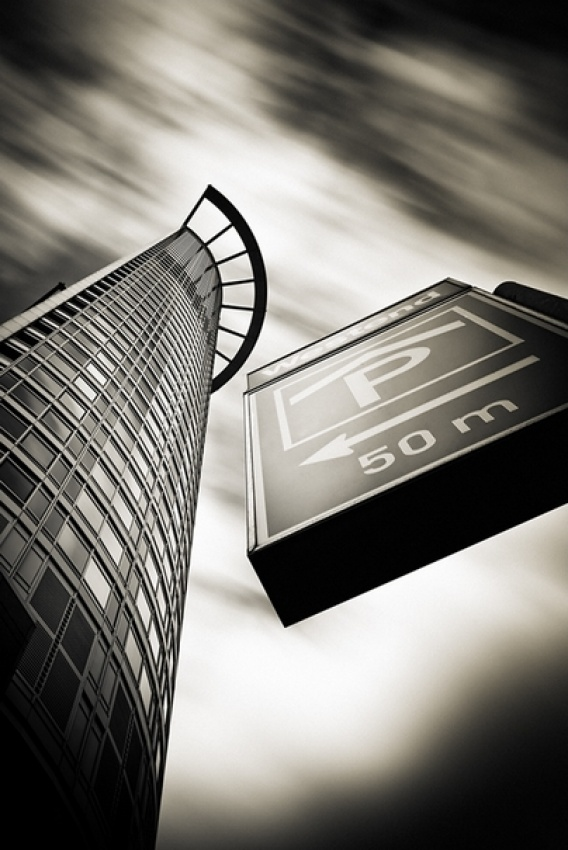 A piece of fine art art photography titled Verticals #14 by Arkadius Zagrabski