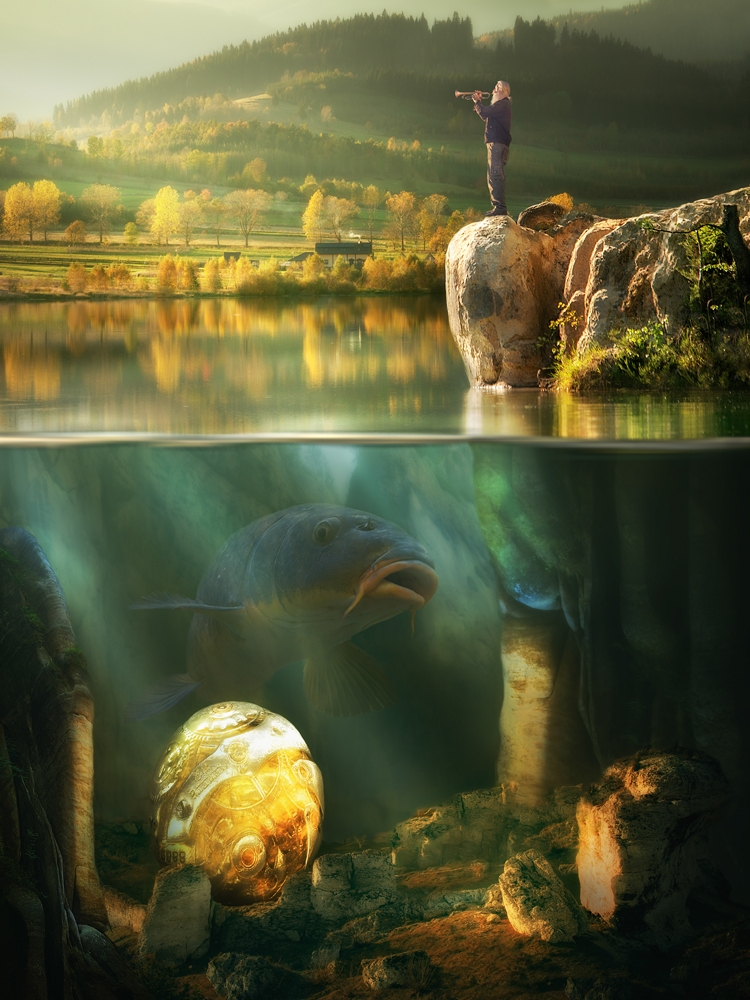 A piece of fine art art photography titled Untitled by Arkadiusz Makowski