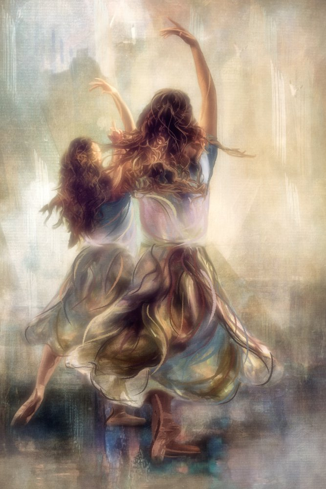 View this piece of fine art photography titled ...dancing to their song.... by Charlaine Gerber