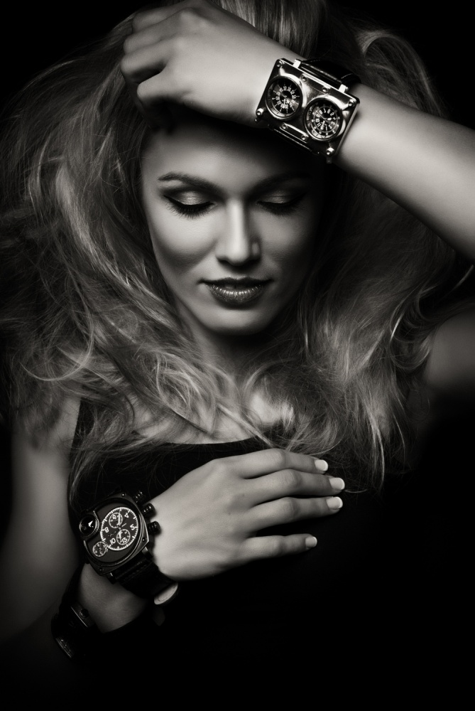A piece of fine art art photography titled Time by Denisa Justusová Šumcová