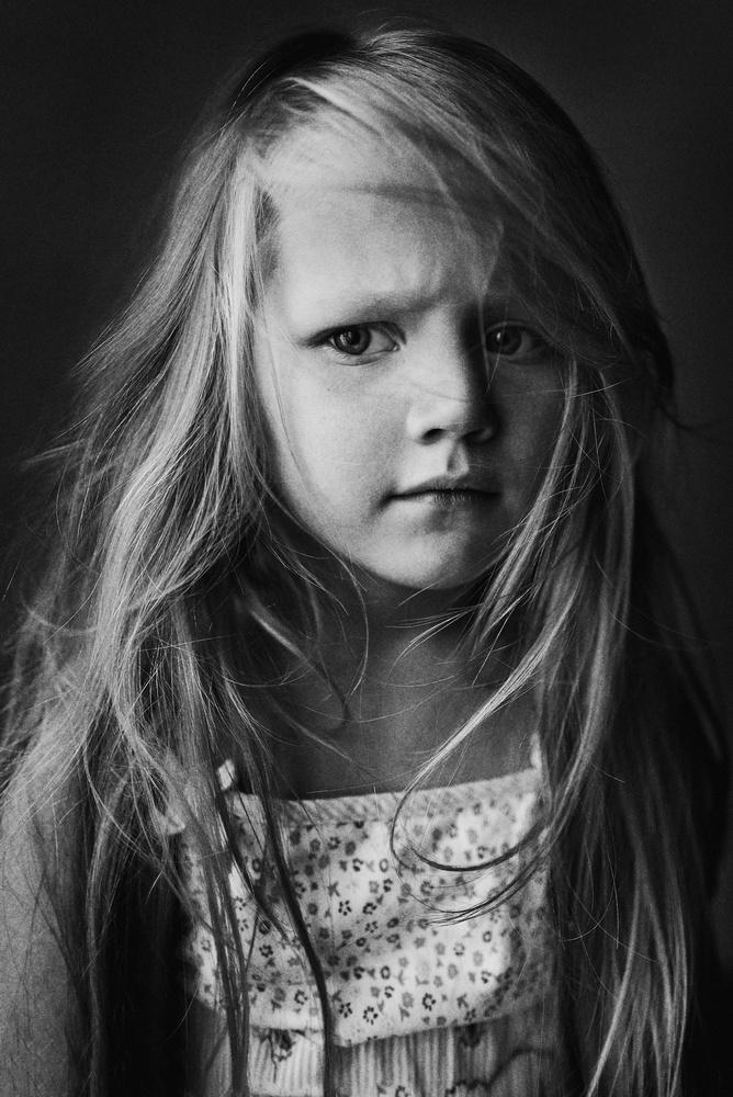 A piece of fine art art photography titled Daria by Kharinova Uliana
