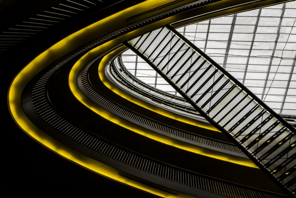 A piece of fine art art photography titled On Higher Level  by Gilbert Claes