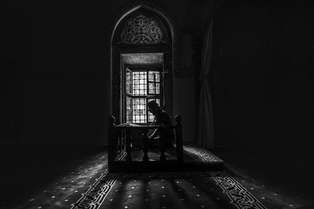 A piece of fine art art photography titled Prayer by Yasemin Bakan