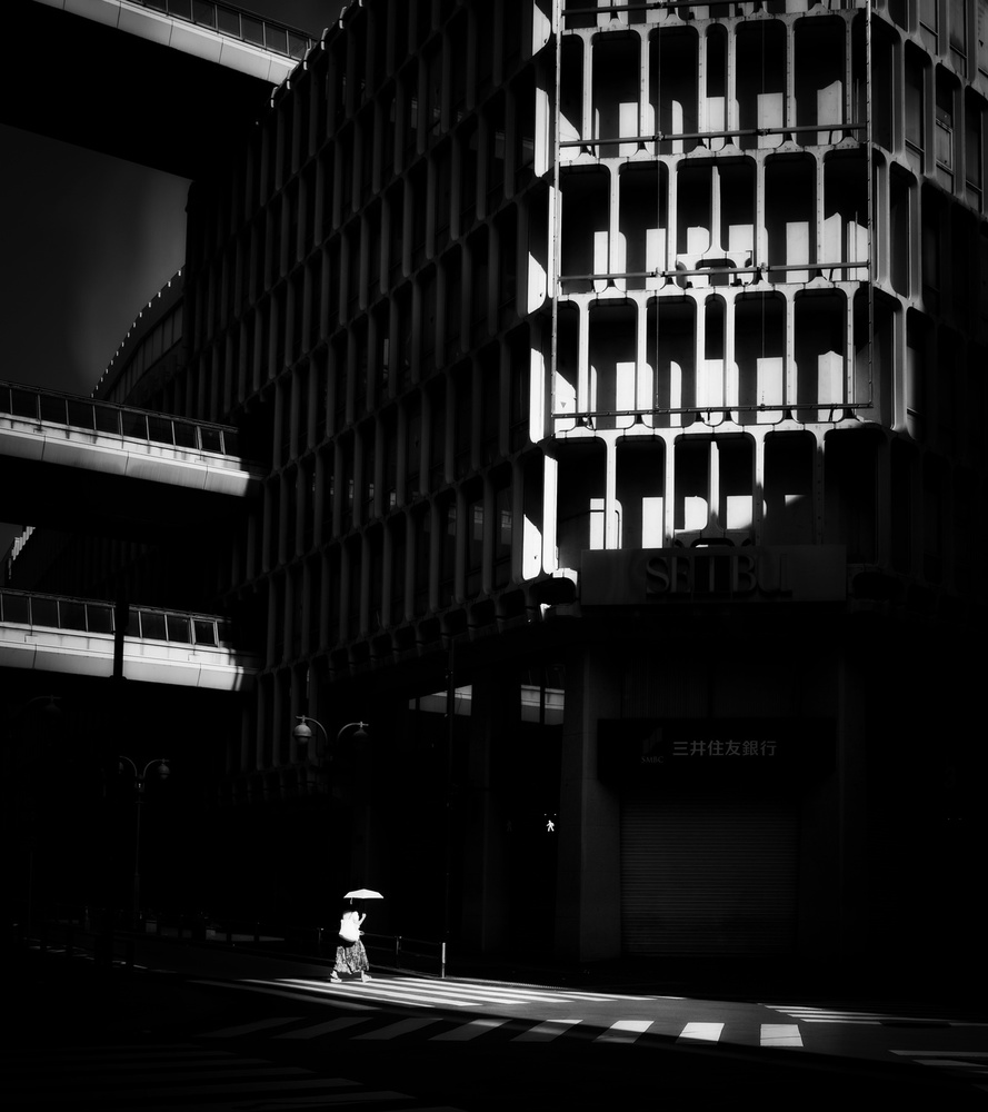 View this piece of fine art photography titled Shibuya street by Andreas Bauer
