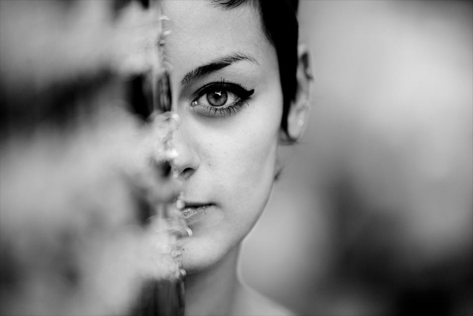 A piece of fine art art photography titled Mona by Bela Benedek