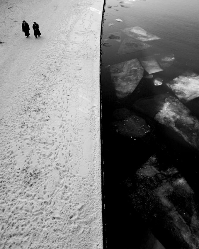 A piece of fine art art photography titled Ice Cubes by Piotr Wiszniewski