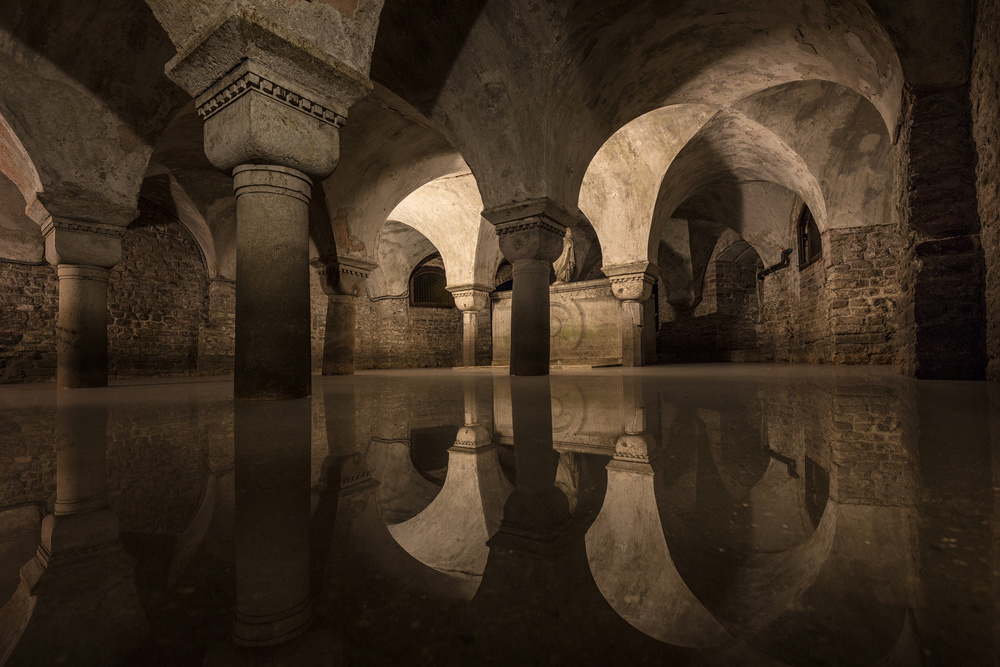 Water in the Crypt