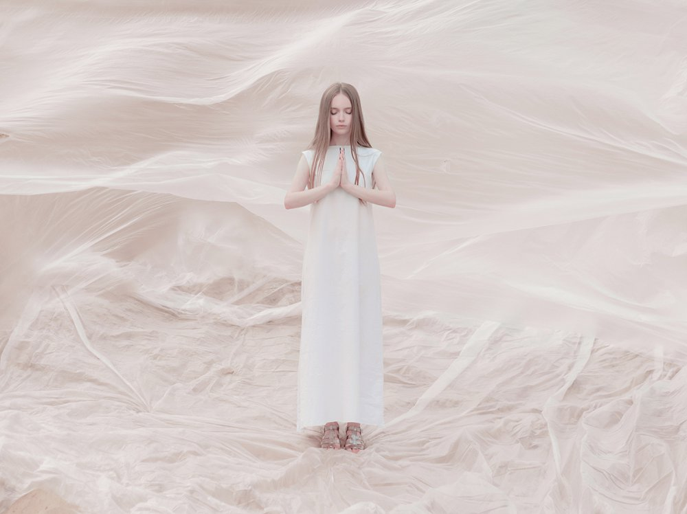 A piece of fine art art photography titled Fluid Space by Inna Mosina
