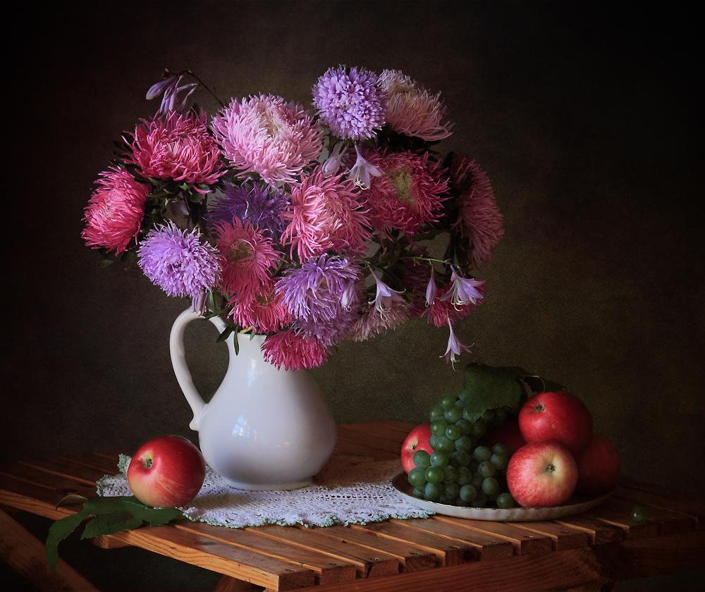 A piece of fine art art photography titled August Gifts of the Garden by Tatyana Skorokhod (Татьяна Скороход)