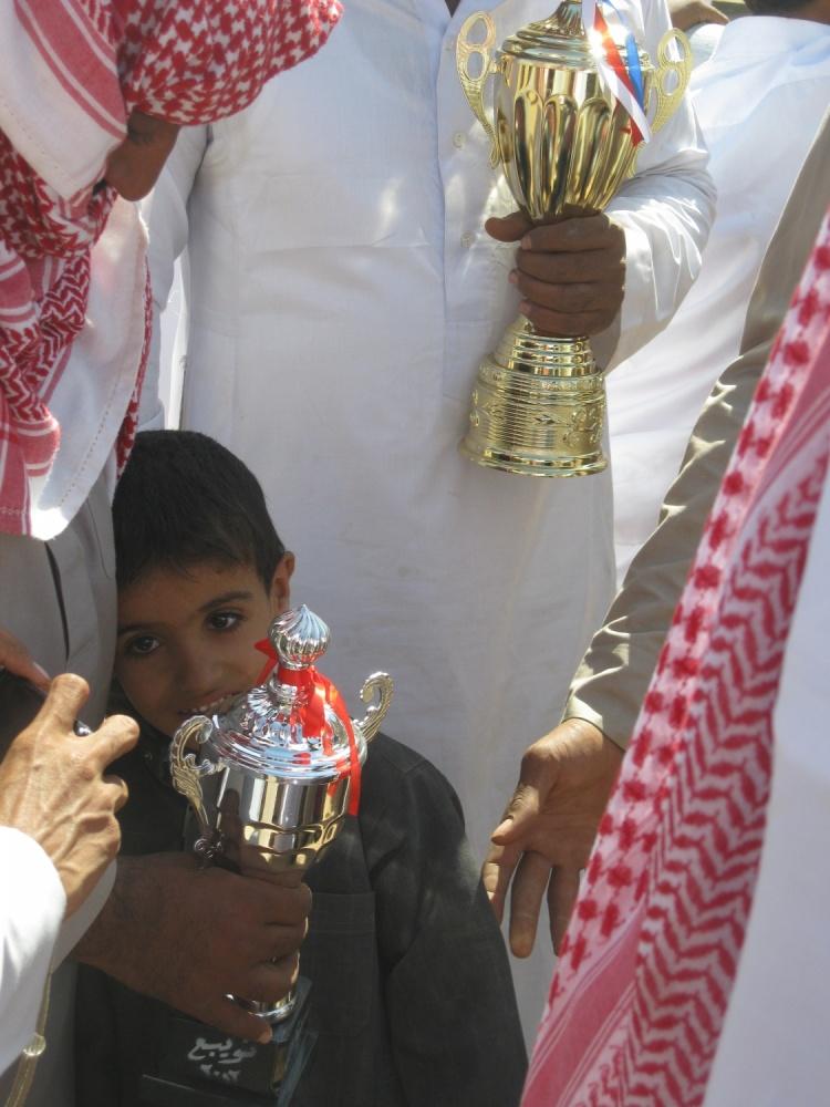 the winner, camel race, South Sinai, Egypt