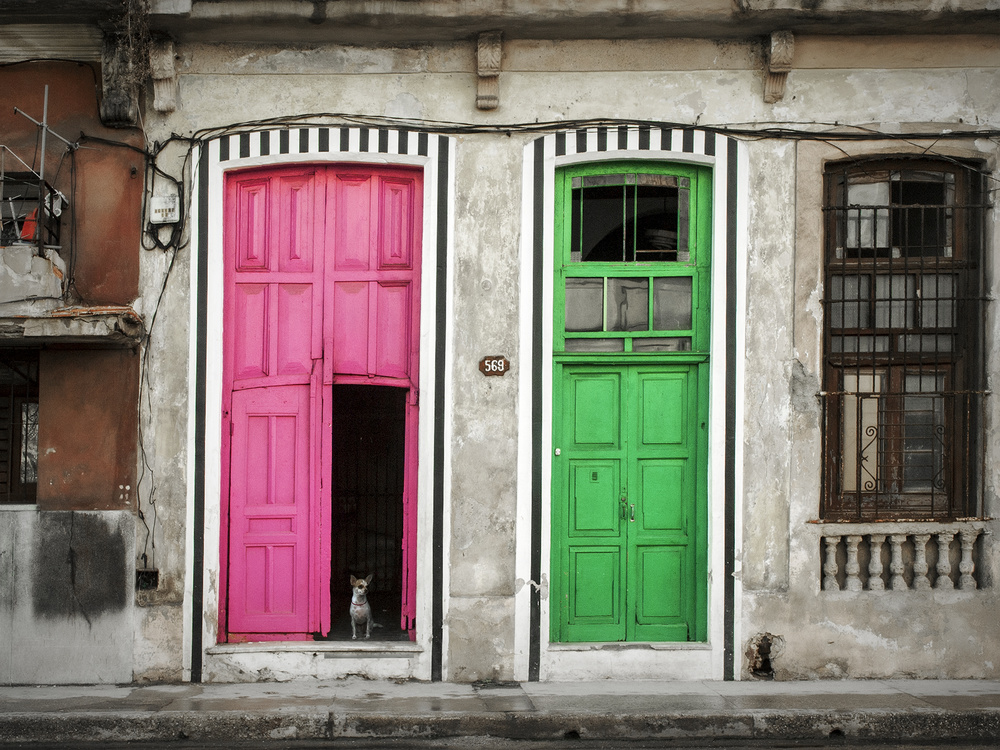 A piece of fine art art photography titled Havana Street ! by Svetlin Yosifov