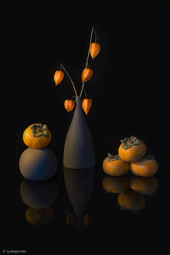 View this piece of fine art photography titled Sweet Persimmons by Delphine Devos