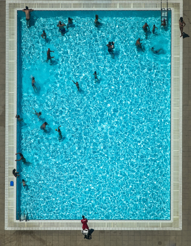 A piece of fine art art photography titled Lifeguard by Amin Jafarian