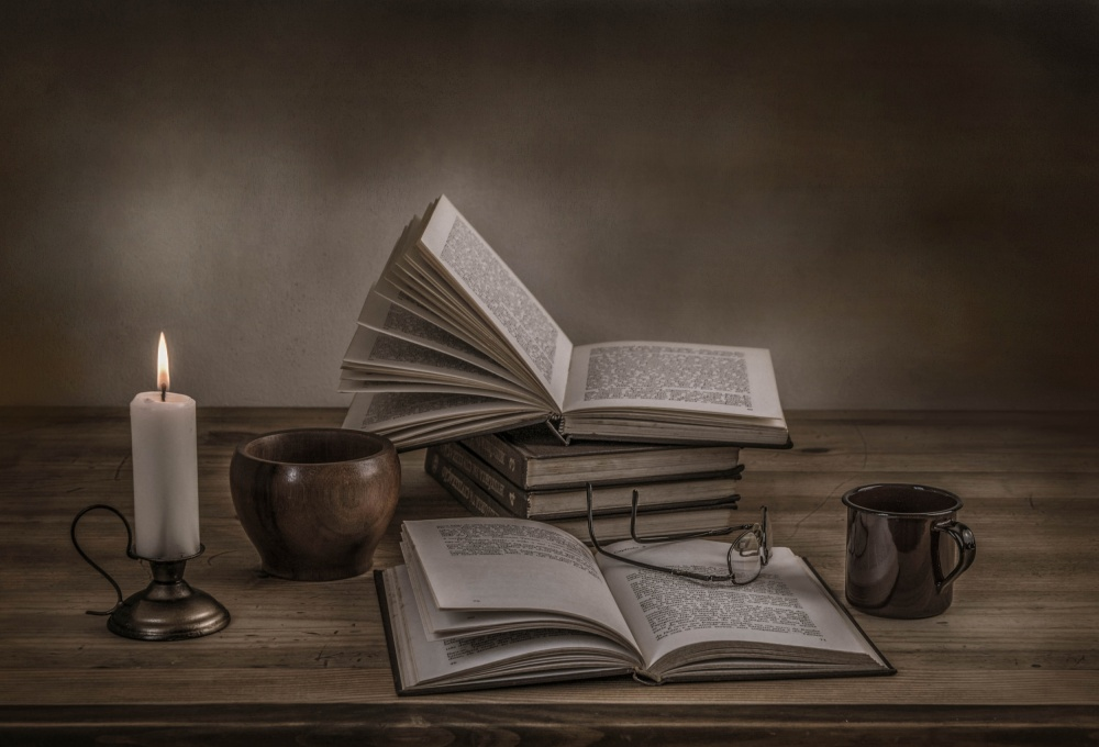 A piece of fine art art photography titled A Good Read by Margareth Perfoncio