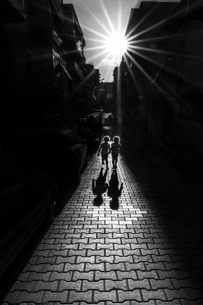 A piece of fine art art photography titled Twins by Yasemin Bakan