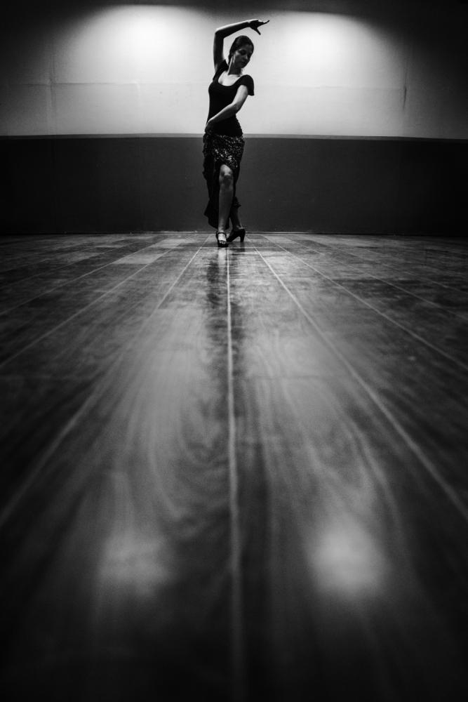 A piece of fine art art photography titled Tangent by Nemanja Jovanovic
