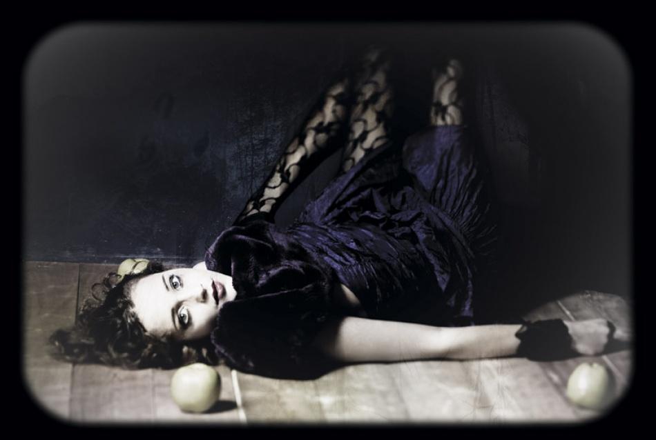A piece of fine art art photography titled Violet Velvet by aleba